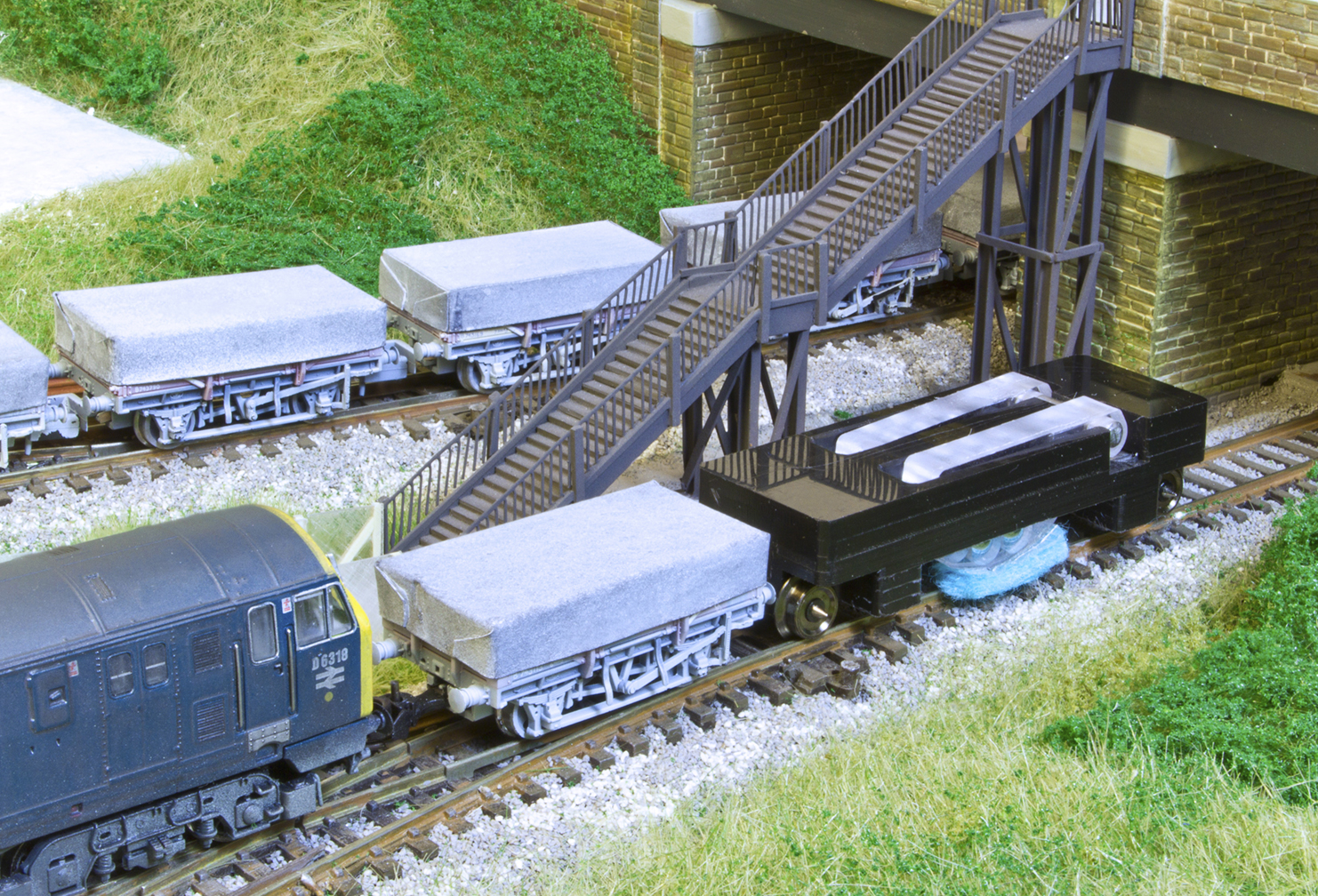 TRACK CLEANING WAGON N GAUGE