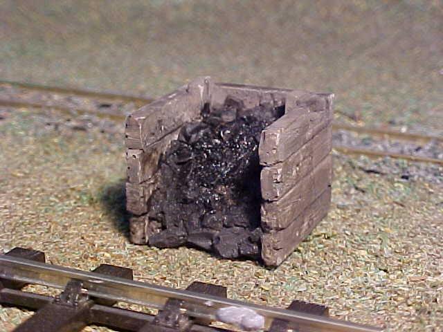 SMALL SLEEPER BUILT COAL BUNKER