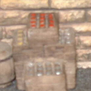 7-84 stacked beer crates