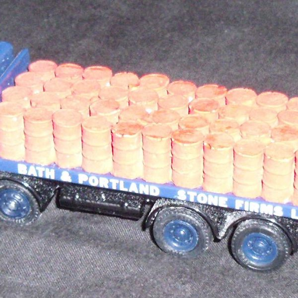 w177 oil drums - lorry
